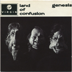 Land Of Confusion cover front